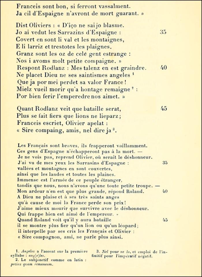 Chanson de Roland 03