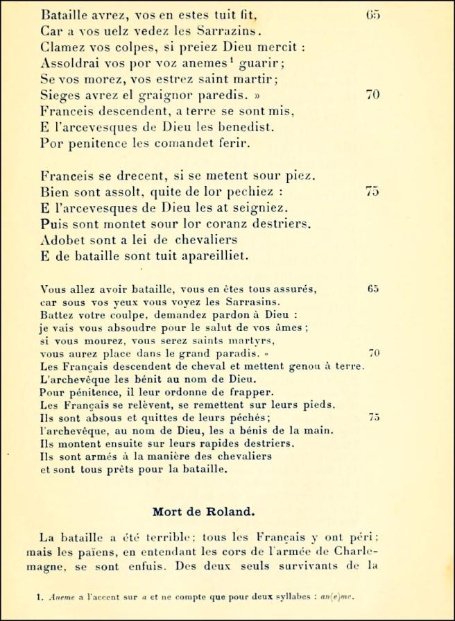 Chanson de Roland 05