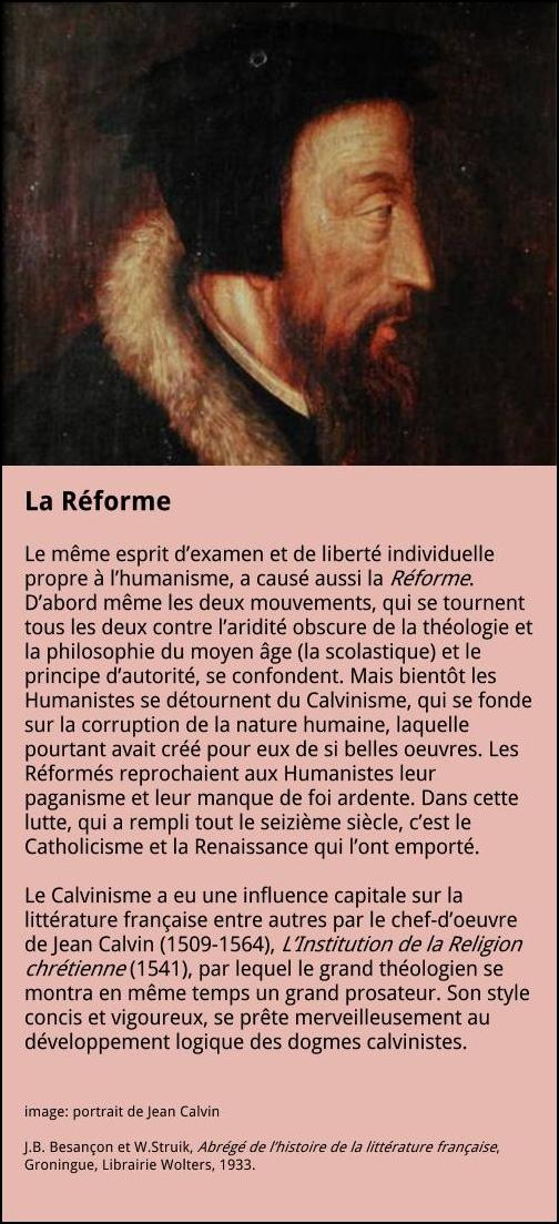 La Réforme