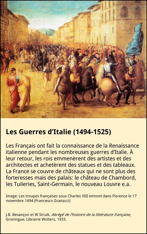 Les Guerres d'Italie