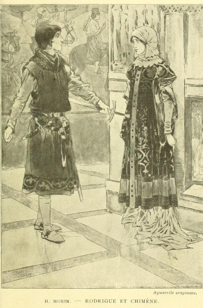 Rodrigue et Chimène