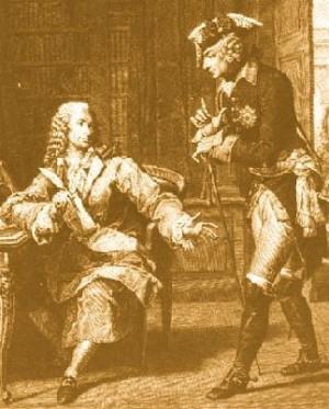 Voltaire en Frederik II