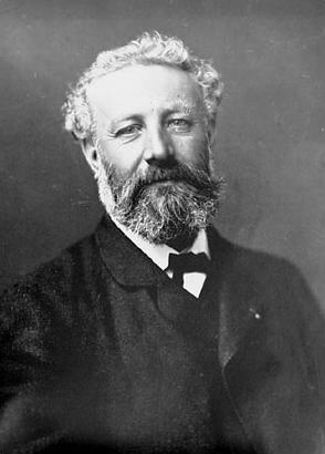 Jules Verne photographié par Nadar