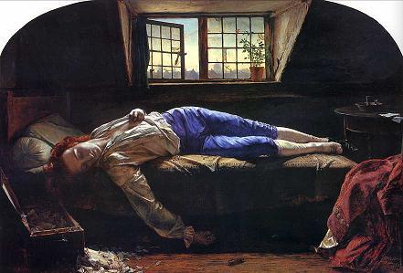 La mort de Chatterton (Henry Wallis)