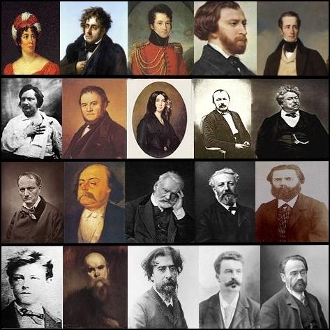 Mosaïque_portraits_-_littérature_française_19e_s