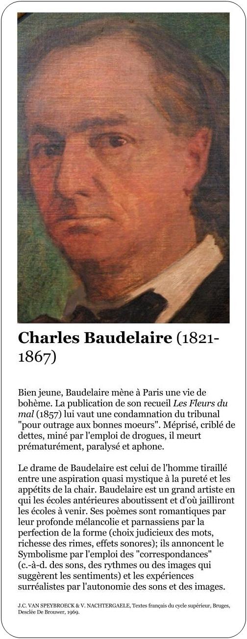 Charles Baudelaire - Élévation - Commentaire