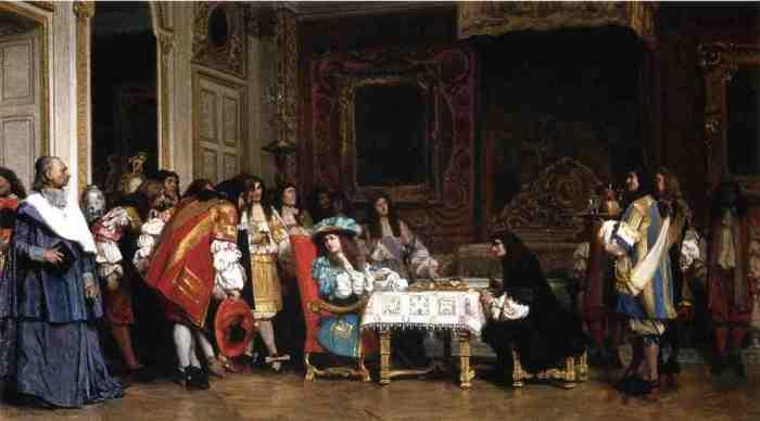 Jean-Léon_Gérôme_-_Louis_XIV_and_Moliere