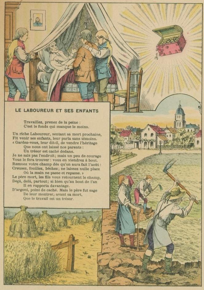 Le Laboureur et ses enfants La Fontaine