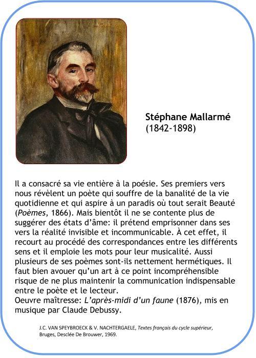 Mallarm 233 St 233 Phane 192 La Fran 231 Aise
