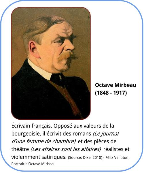Octave Mirbeau - Bio