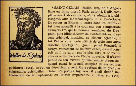 Mellin de Saint-Gelais