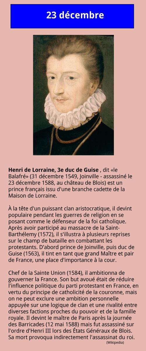 12_23 Henri Ier de Guise