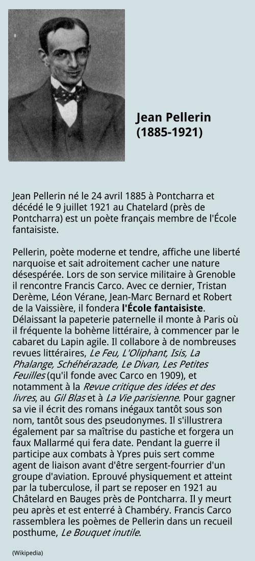 Jean Pellerin (1885-1921)