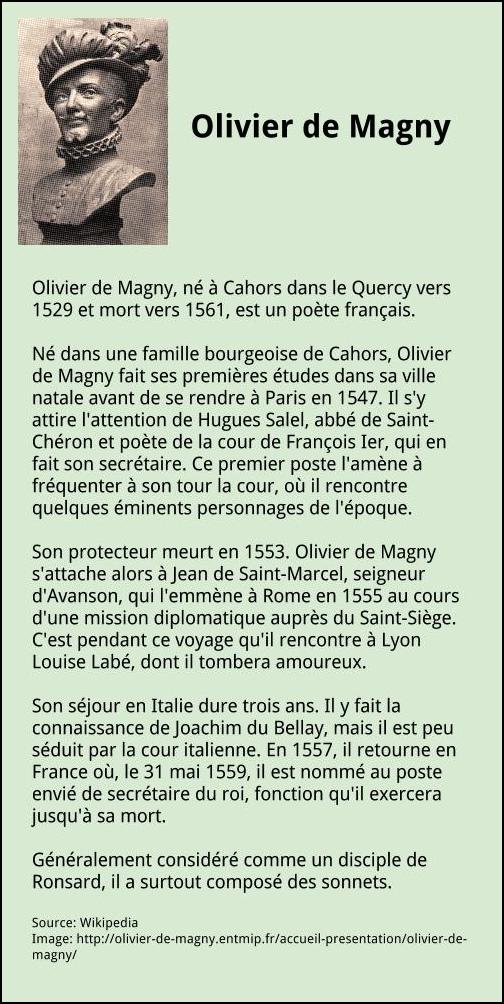 olivier de magny