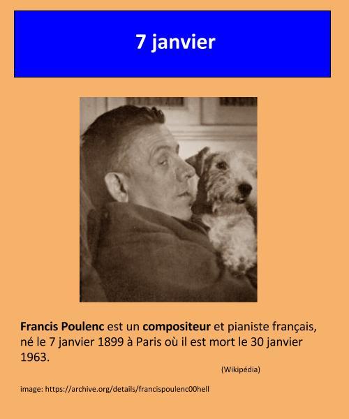 01_07 Francis Poulenc