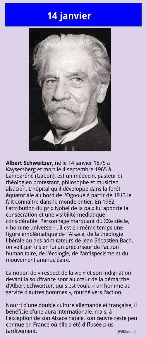 01_14 Albert Schweitzer