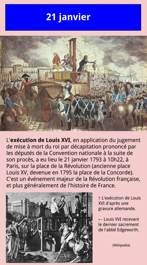 01_21 Exécution de Louis XVI