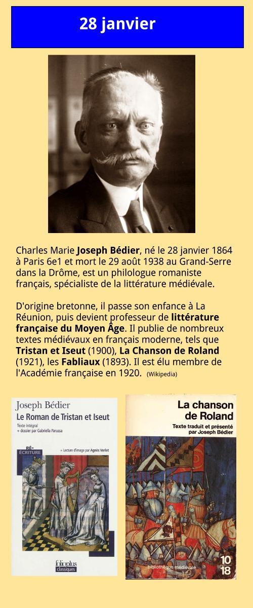 01_28 Joseph Bédier