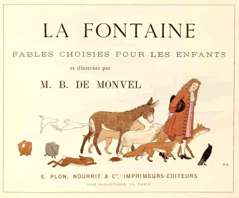 La Fontaine - Fables choisies pour les enfants