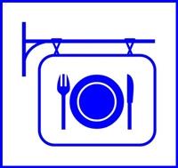Restaurant-Sign-White-300px