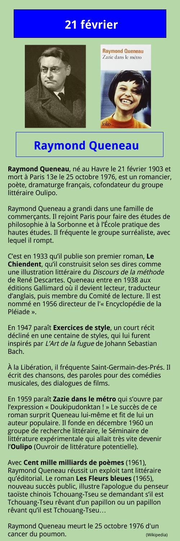 02_21 Raymond Queneau