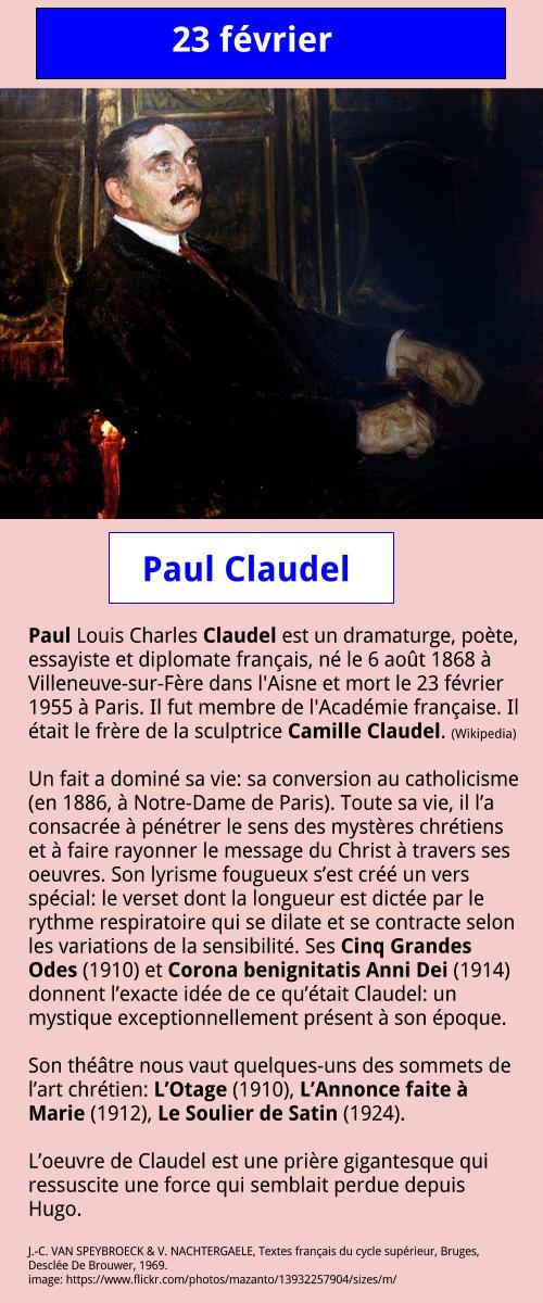 02_23 Paul Claudel