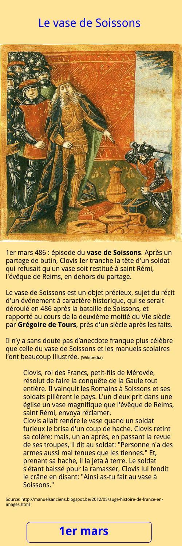 1er mars - Le vase de Soissons