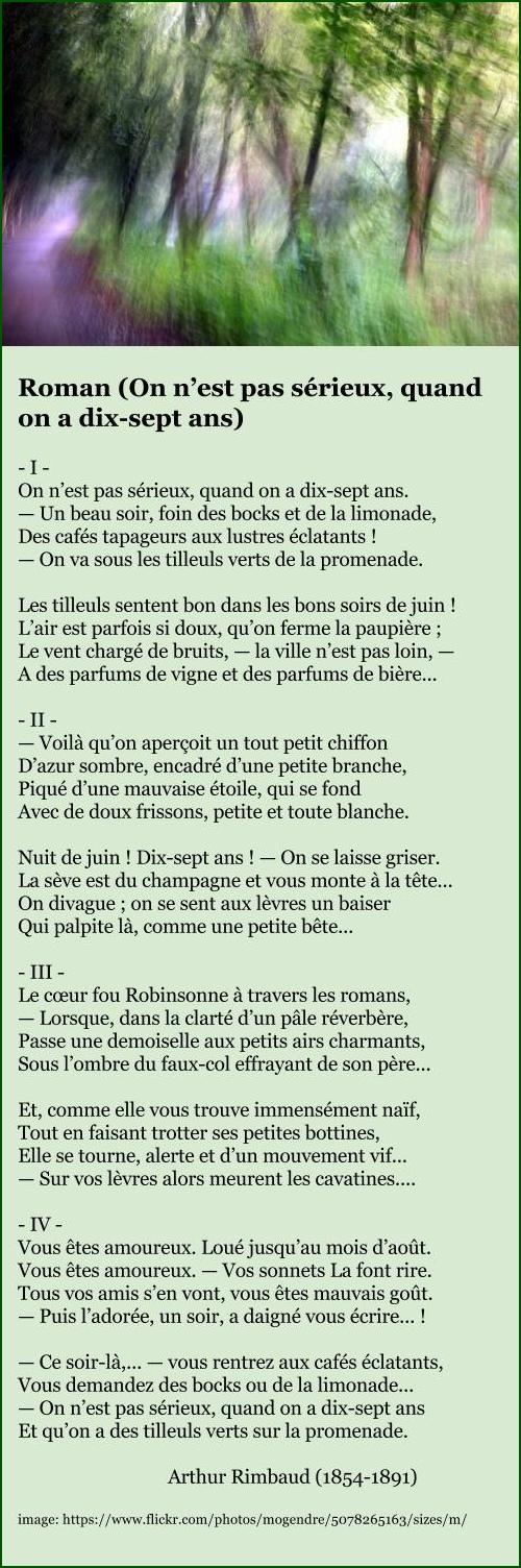 Arthur Rimbaud - Roman
