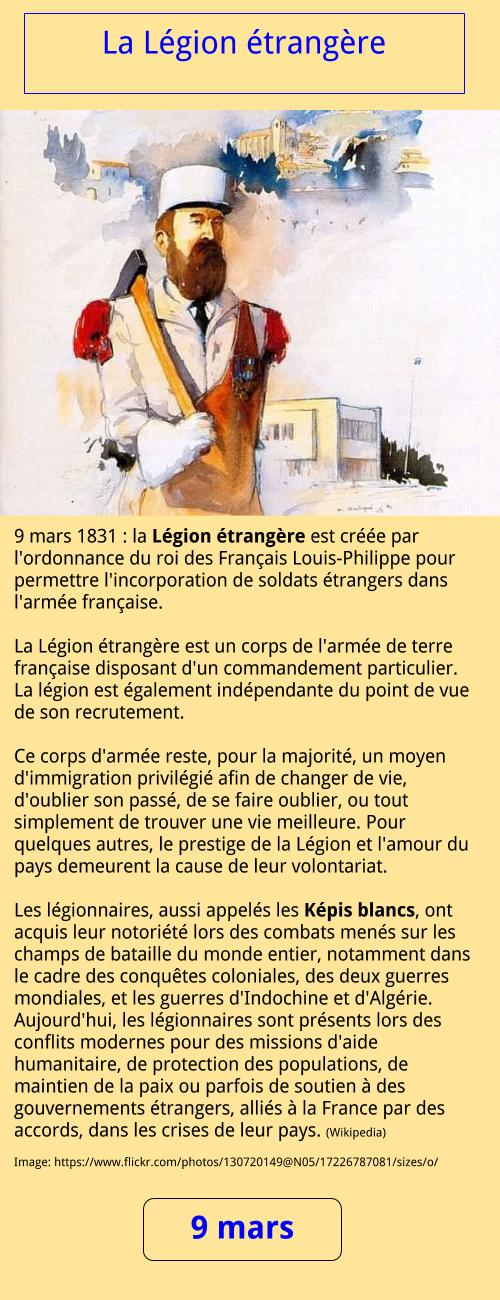 03_09 La Légion étrangère