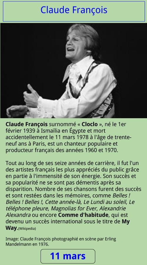 03_11 Claude François