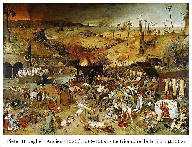 Brueghel Le triomphe de la mort