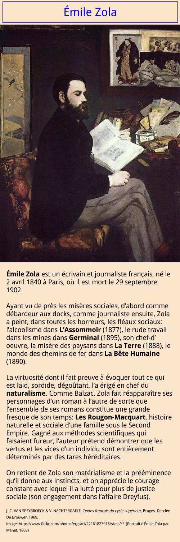 Émile Zola image-texte
