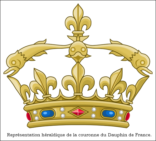 Couronne Dauphin France
