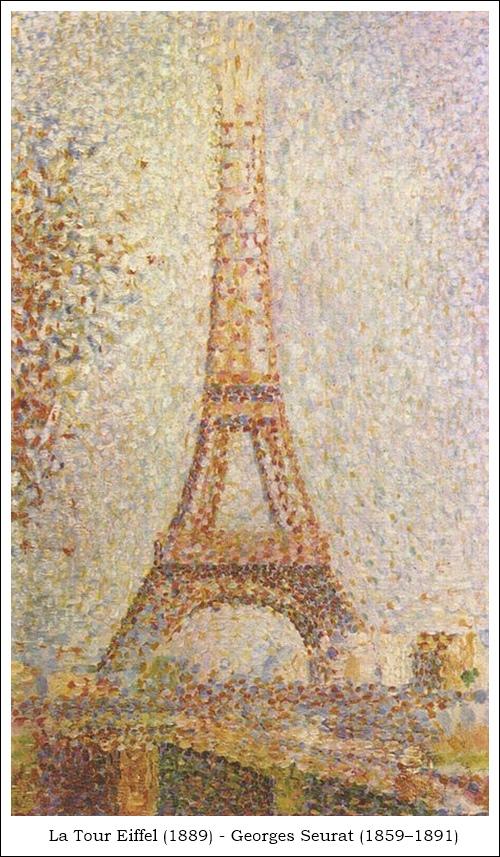 Tour Eiffel Georges Seurat