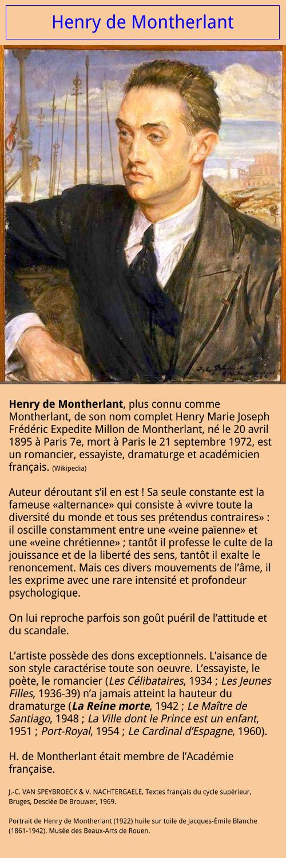 Henry de Montherlant