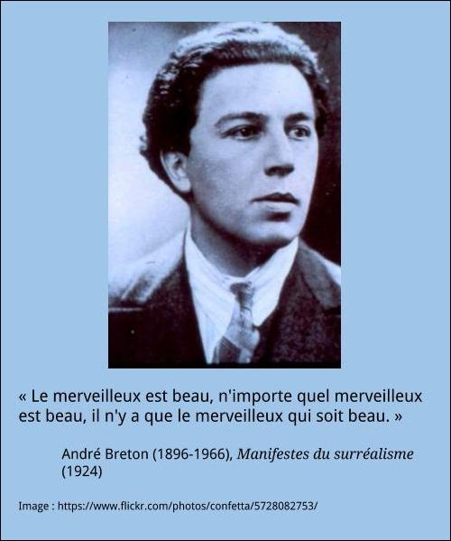 André Breton à La Française