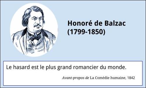 Balzac Citation à La Française